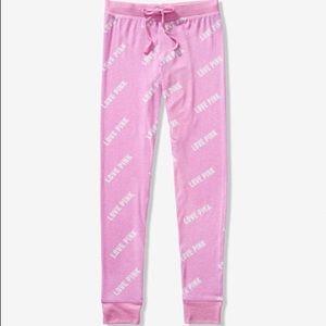 Vs Pink Cozy Jersey Sleep Pant Pajama Lilac S
